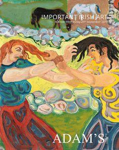 IMPORTANT IRISH ART Irish Art, Art Auction, Oil On Canvas, Fine Art, Visual Arts