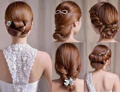 24 Simple And Chic Bridal Hairstyle Ideas | Exquisite Girl
