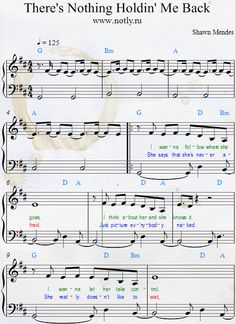 Shawn Mendes — There's Nothing Holdin' Me Back Piano Sheets Download PDF Piano Sheet Music Illuminate Songbook