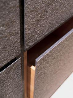 Minotti Cucine labradorite drawers Deco Furniture, Modern Furniture, Furniture Design, Architecture Details, Interior Architecture, Interior And Exterior, Kitchen Interior, Kitchen Design, Kitchen Ideas