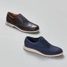 When sport meets style. Introducing the new Total Motion collection. Men's Shoes, Dress Shoes, Shoes Men, Wingtip Shoes, Spring Shoes, Shoe Dazzle, Shoe Collection, Cole Haan, Spring Fashion
