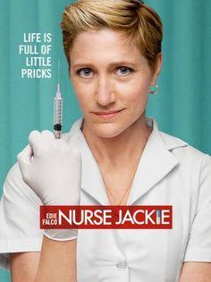 Nurse Jackie ... frickin. love.