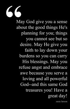 Start a Day Blessing. Thank you. I needed this today!