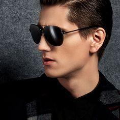 2015 nova moda Polarized óculos de sol para homens piloto do sexo masculino esportes ao ar livre UV400 óculos para o homem de óculos pontos sun Oculos de sol