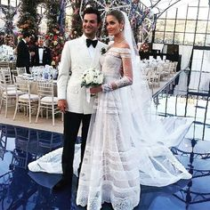 Victorias Secret Model Ana Beatriz Barros Wedding - Image 6