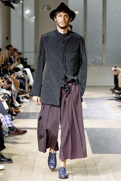 Yohji Yamamoto   Spring 2012 Menswear Collection   Style.com