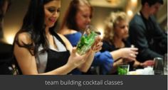 team building cocktail making classes