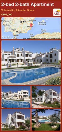 2-bed 2-bath Apartment in Villamartin, Alicante, Spain ►€109,000 #PropertyForSaleInSpain