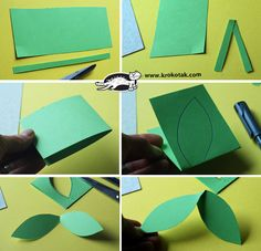 krokotak   3D třešně Papírové