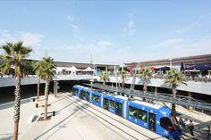 Port Marianne - Odysseum - Ligne 1 Tram - photo MC Lucat