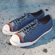 """@converse x Jack Purcell LTT Ox Canvas """"Admiral/Tobacco""""  #converse #jackpurcell"""