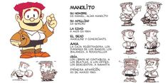TODA Mafalda.: Los personajes de la tira.