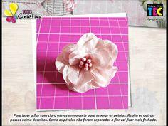 Passo a Passo - Time Criativo - Cartão Flores