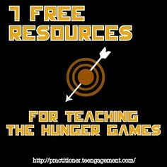 Hunger Games Resources Teengagement- 7 Free Resources for teaching The Hunger Games for middle school and high school classrooms. Maybe someday? Teacher Boards, Teacher Tools, Teacher Stuff, Too Cool For School, Middle School, High School Classroom, Classroom Ideas, Hunger Games Novel, Teaching Reading