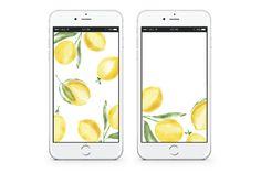The Cutest Free Mobile Wallpaper - Ever. | lark & linen