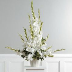 Church Flower Arrangement - Church Decorating for Weddings