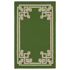 Surya Alameda Santorini Green Hand Woven Rug @Zinc_Door