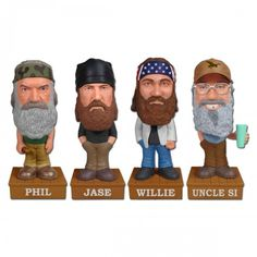 Duck Dynasty Wacky Wobblers [Set of 4]