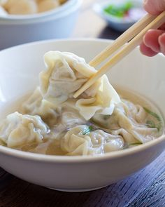 Wonton Soup by Canuck Cuisine