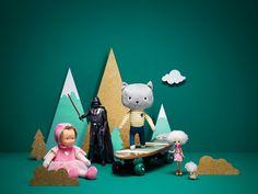 VO | Valérie Oualid : Agent d'illustrateurs | Alexis Facca | Monoprix Paper Art, Illustration, Toddler Bed, Artist, Design, Home Decor, Child Bed, Papercraft, Decoration Home