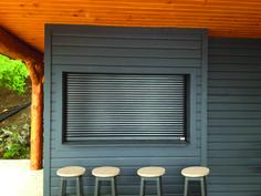 Roller shutters interior window shutters indoor roller security shutters for doors and for Interior window security shutters