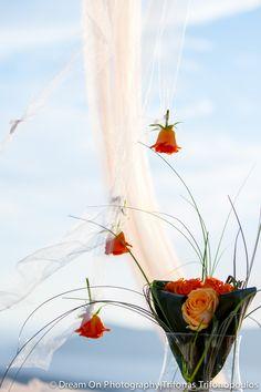 Wedding decoration Santorini