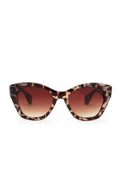 Tortoiseshell Cat Eye Sunglasses | Forever 21 - 1000157665