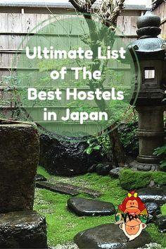 Ultimate list of best hostels in japan