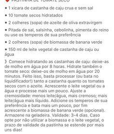 Pastinha de tomate seco 2
