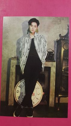 NU'EST MINHYUN Official Photocard Signed Postcard Special Single I'm Bad NUEST