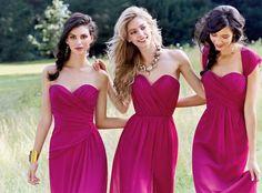 De la nota: Damas de Honor 2015: ¿Qué tendencias están más de moda? Leer mas: http://www.hispabodas.com/notas/2663-damas-de-honor-2015-tendencias-de-moda