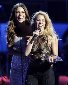 Sofia Vergara and Shakira, both born and raised in Barranquilla, Colombia. Beautiful Sites, The Most Beautiful Girl, Beautiful People, Colombian Culture, Ray Ban Sunglasses Outlet, Oakley Sunglasses, Bust A Move, Latin Women, Sofia Vergara