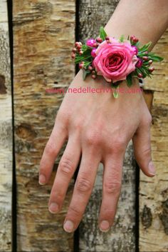 bracelet mariage en rose mini-eden