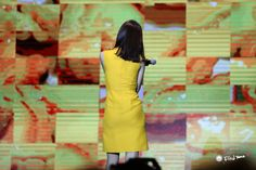 Yoona Snsd, Sooyoung, Wonderful Day, Dresses For Work, Summer Dresses, Girls Generation, Brown Hair, Short Hair Styles, Stage