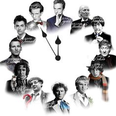 """What time is it?"" An unknowing friend if a whovian asks. *Looks at clock* ""Eccleston o'clock."""