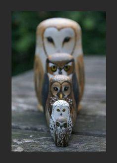 Owl matrushkas Pinned.