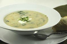 Sarbusca sau dresala cu chisleag Cheeseburger Chowder, Good Food, Soup, Recipes, Fine Dining, Soups, Ripped Recipes, Healthy Food