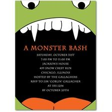 Halloween Party Invitations by Tiny Prints. Unique Designs and custom text. Spooky Halloween, Holidays Halloween, Halloween Party Invitations, Tiny Prints, Central, Childrens Party, Vintage Cards, Party Ideas, Costumes