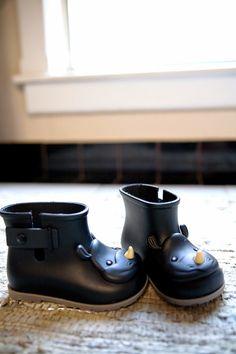 Mini Melissa Rain Boots #StylishLittleMoppets @Little_Moppets