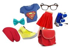 """""""SUPERMAAAAAAANNNN!!"""" by if-i-could-flyy ❤ liked on Polyvore featuring art"""