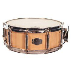 Drum Art Spruce 14 x 5.5 Inch Hand Crafted Snare Drum. #drumart #snare #drum