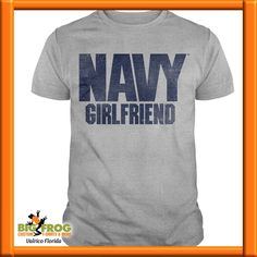 3537f7bde Contact us at DesignersValrico@BigFrog.com to get started! See more. Navy  girl friend. At Big Frog we can put what you love on your shirt