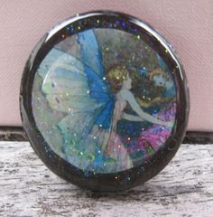 Butterfly Fairy Resin Art Bead by BeResinable on Etsy