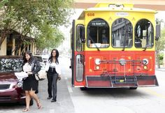 Want to catch a ride aboard Fort Lauderdale's Sun Trolley? There's an app for that. Available for iPhone and Android, users can track the trolley in real time along its seven routes.