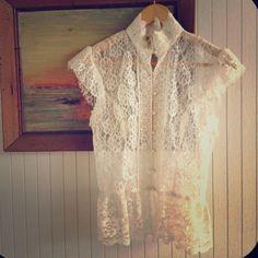 "Spotted while shopping on Poshmark: ""⭐HOST PICK⭐Romantic Gunne Sax Lace Blouse, Vintage""! #poshmark #fashion #shopping #style #Gunne Sax #Tops"