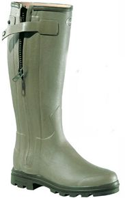 Le Chameau Chasseur Wellington Boots - For Men and Women leather lined boots with full zip #Bestinthecountry