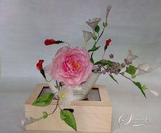 Just Wafer Paper Flowers - Cake by Petya Shmarova