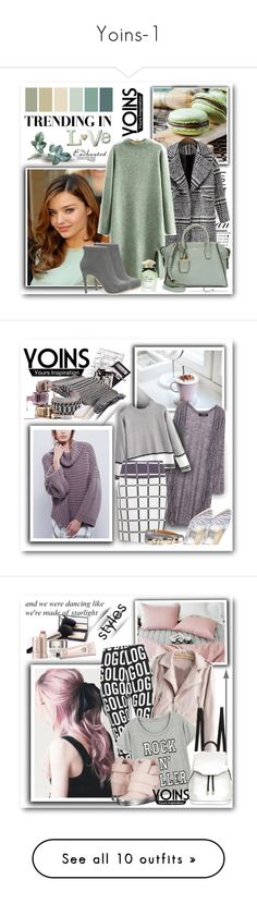 """Yoins-1"" by sneky ❤ liked on Polyvore featuring DKNY, Dolce&Gabbana, women's clothing, women's fashion, women, female, woman, misses, juniors and Jil Sander Navy"