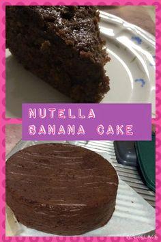 Mum's Magic Nutella Banana Cake