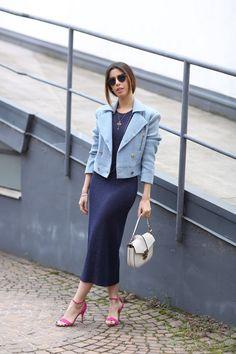 inspiração street style como usar saia mídi camila coutinho